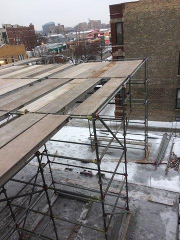 1605 W Ohio St winter enclosure scaffold 13