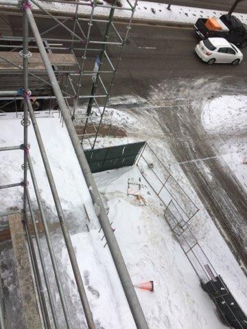 1605 W Ohio St winter enclosure scaffold 12