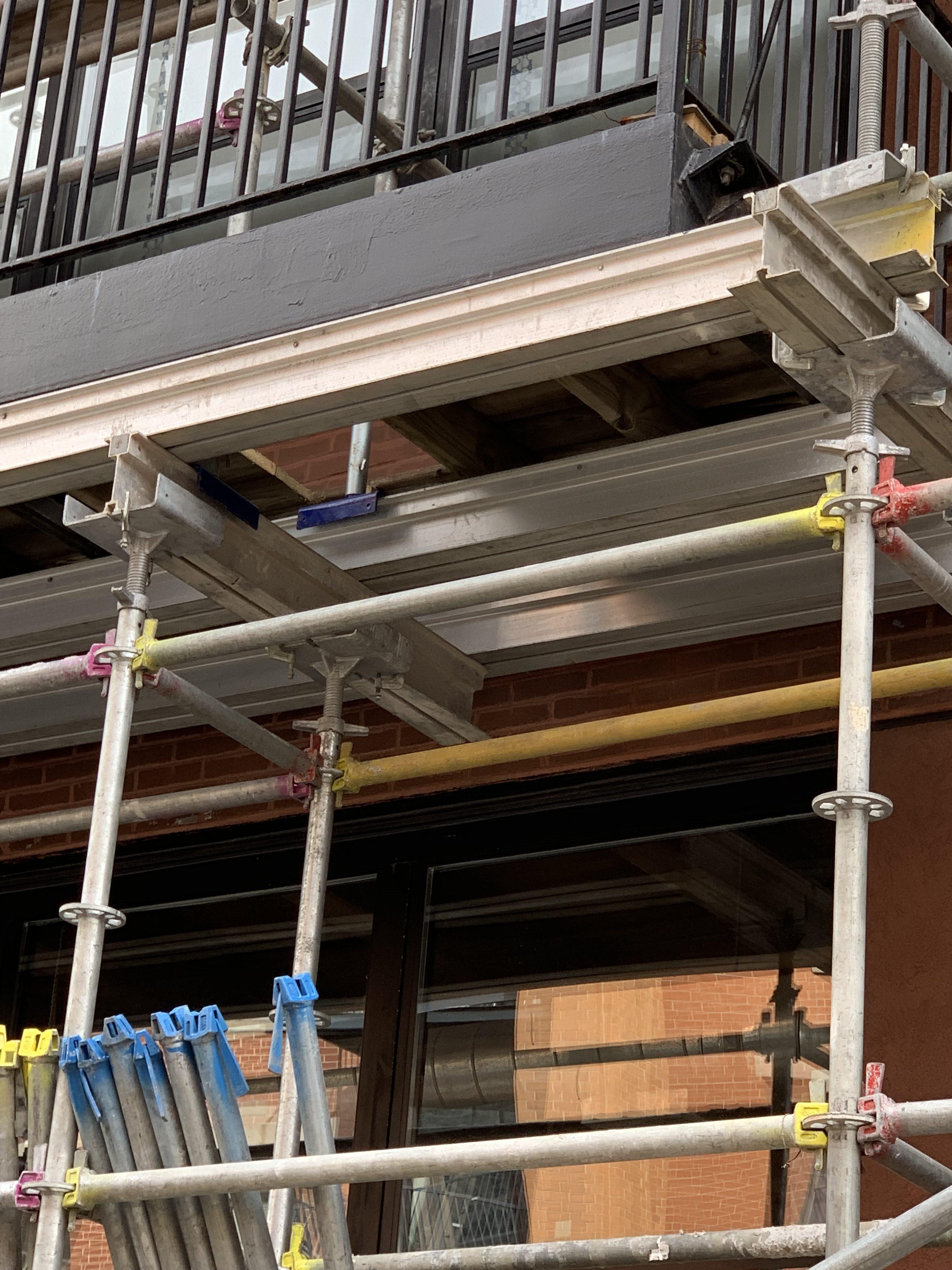 541 W. Fulton - Shoring & Tower scaffold 3