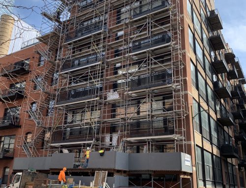 541 W. Fulton – Shoring & Tower scaffold