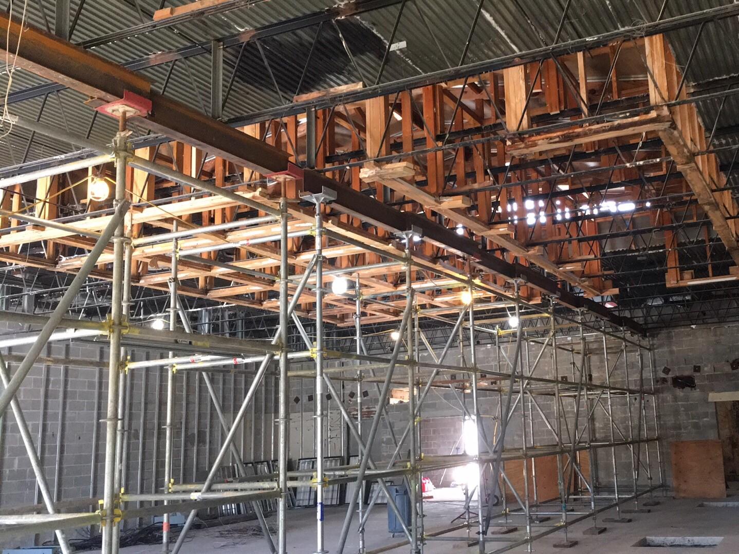 Ritchey Building Shoring Scaffold