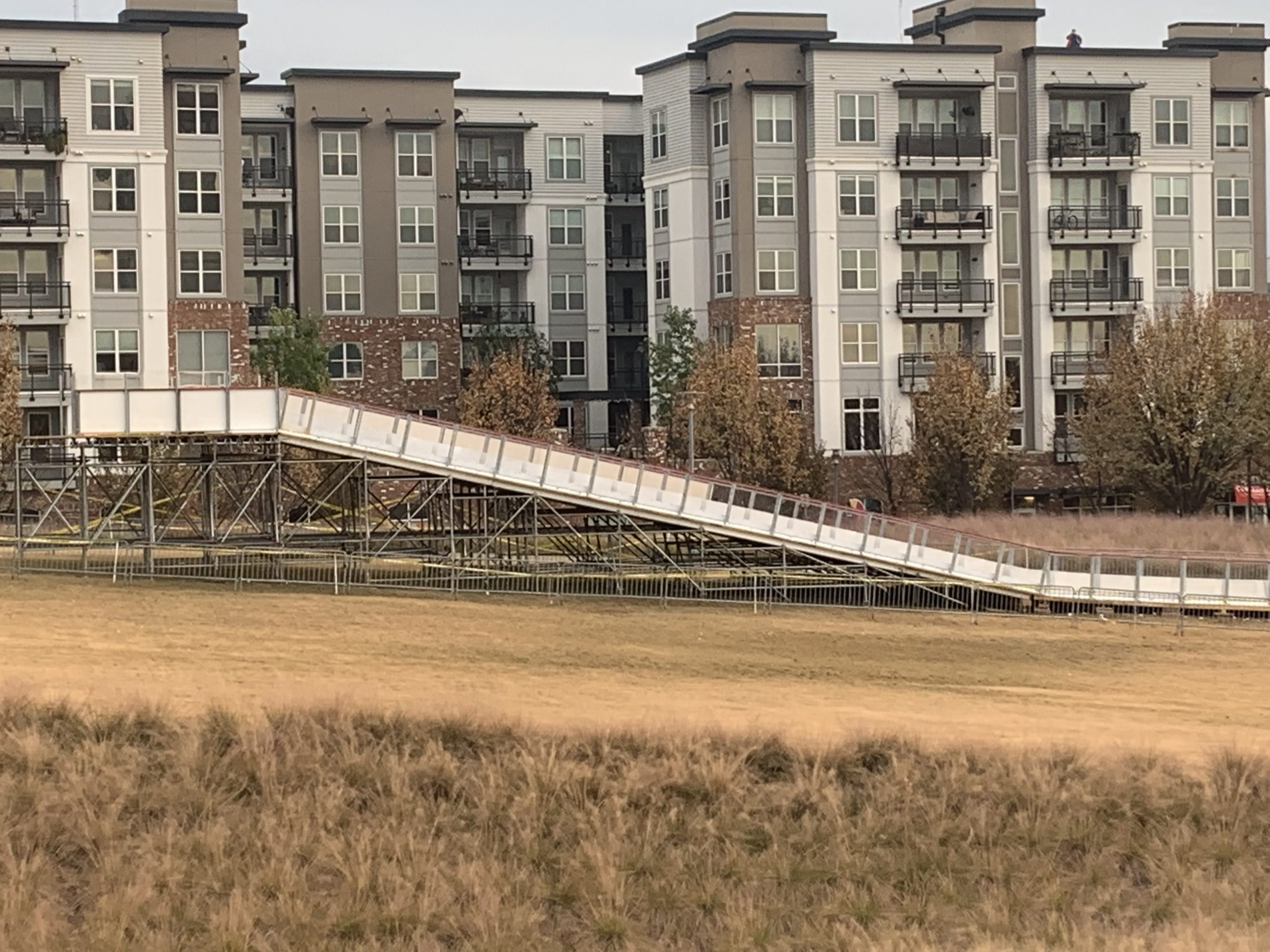 Ice Slide Scaffold