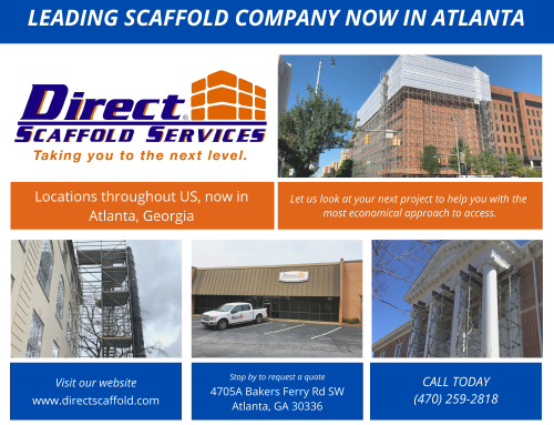 Direct Scaffold Services expands to Atlanta, Georgia